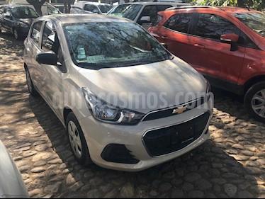 Chevrolet Spark LT CVT, A/C, BOLSAS DE AIRE Y RADIO usado (2018) color Beige precio $175,000