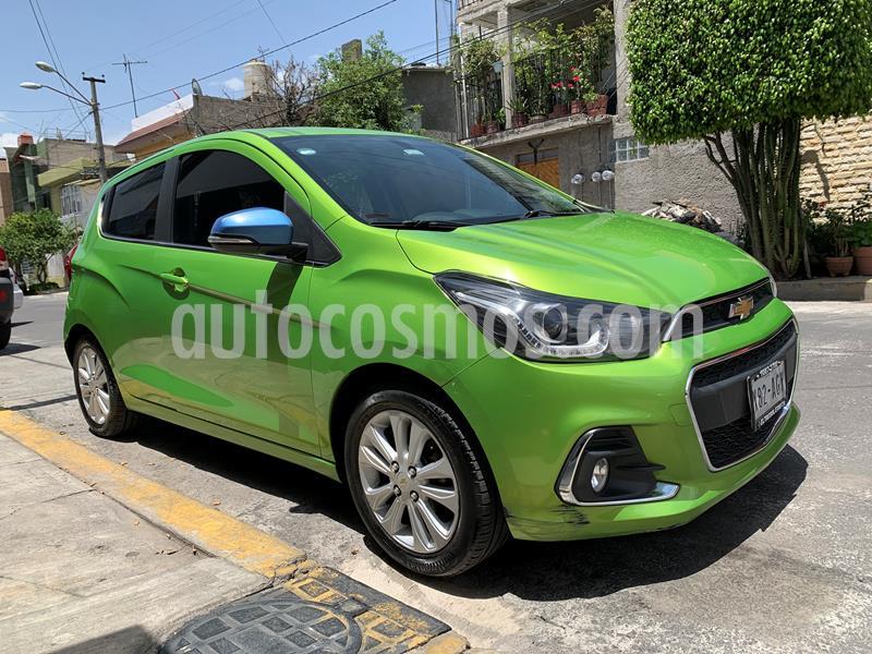 Chevrolet Spark LTZ usado (2016) color Verde Lima precio $125,000