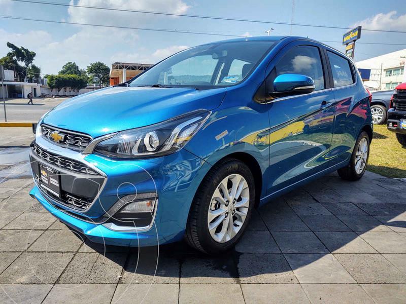 Chevrolet Spark Premier CVT usado (2020) color Azul precio $235,000