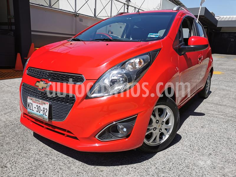 Foto Chevrolet Spark LTZ usado (2016) color Rojo Flama precio $130,000