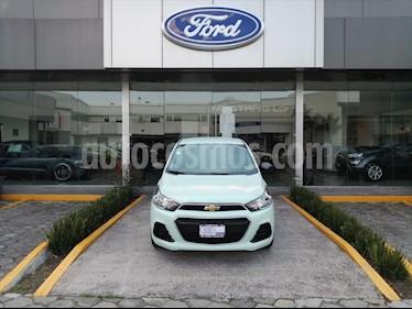 Chevrolet Spark LT usado (2017) color Verde precio $127,000