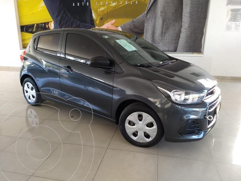 Chevrolet Spark LT usado (2017) color Gris precio $135,000