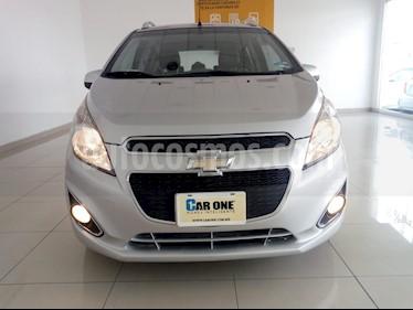 Chevrolet Spark LTZ usado (2015) color Plata Metalico precio $115,000