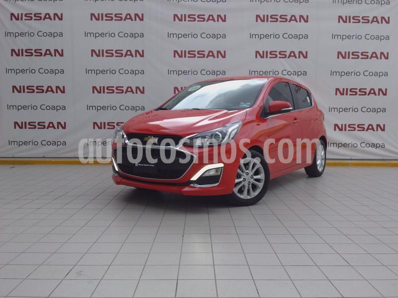 Chevrolet Spark Premier CVT usado (2019) color Rojo Granada precio $245,000