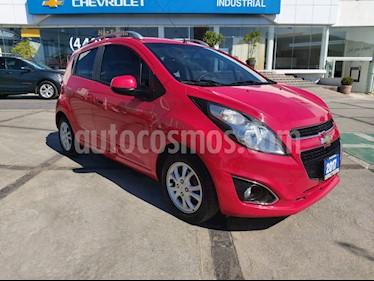 Chevrolet Spark Paq C usado (2017) color Rojo Giga precio $145,000