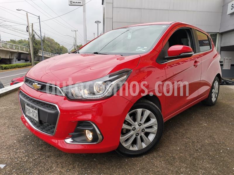 Chevrolet Spark LTZ usado (2018) color Rojo precio $185,000