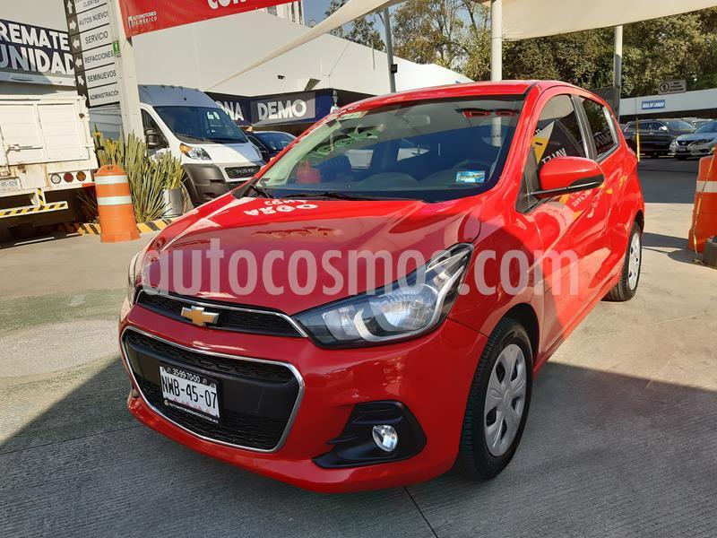 Chevrolet Spark LT CVT Aa Bolsas de Aire ABS usado (2018) color Rojo Flama precio $145,000