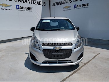 Foto Chevrolet Spark LT usado (2017) color Plata precio $118,000