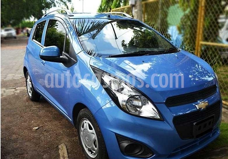 Chevrolet Spark LS usado (2016) color Azul Denim precio $50,000