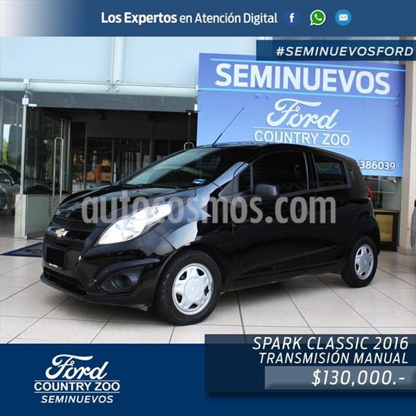 Chevrolet Spark LT usado (2016) color Negro precio $130,000