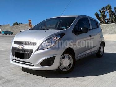Chevrolet Spark LT usado (2017) color Plata Metalico precio $138,000