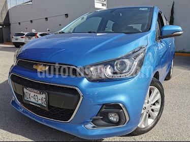 Chevrolet Spark LTZ usado (2017) color Azul Denim precio $155,000