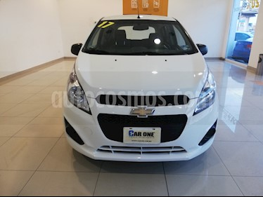 Chevrolet Spark Paq B usado (2017) color Blanco precio $135,000