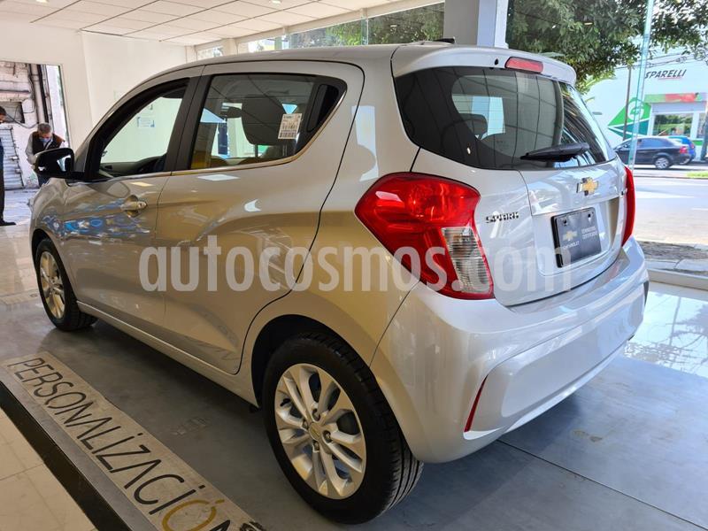 Chevrolet Spark Premier usado (2020) color Plata Dorado precio $259,900