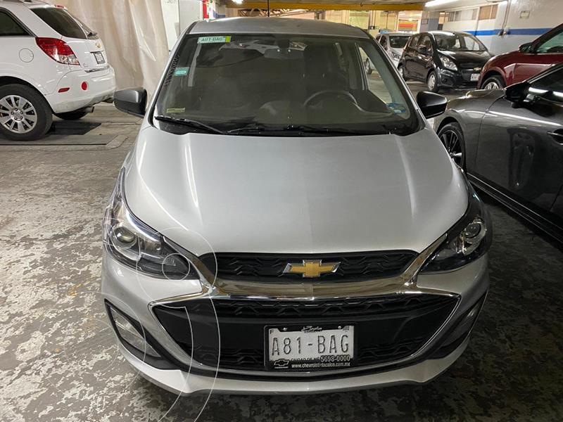 Chevrolet Spark LT CVT usado (2019) color Plata Brillante precio $177,900