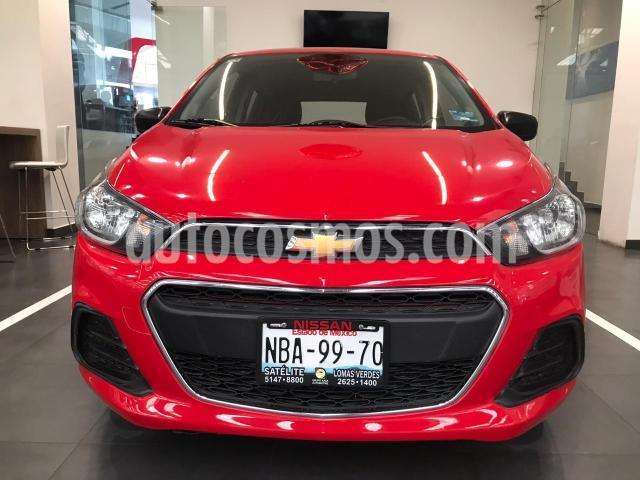 Chevrolet Spark 5P HB LT 1.4L AT A/AC. R-14 (NUEVA GENERACION) usado (2017) color Rojo precio $145,500