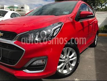 Chevrolet Spark Premier usado (2019) color Rojo Granada precio $210,000