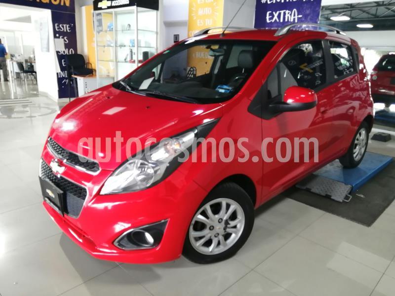 Chevrolet Spark LTZ usado (2017) color Rojo precio $147,000