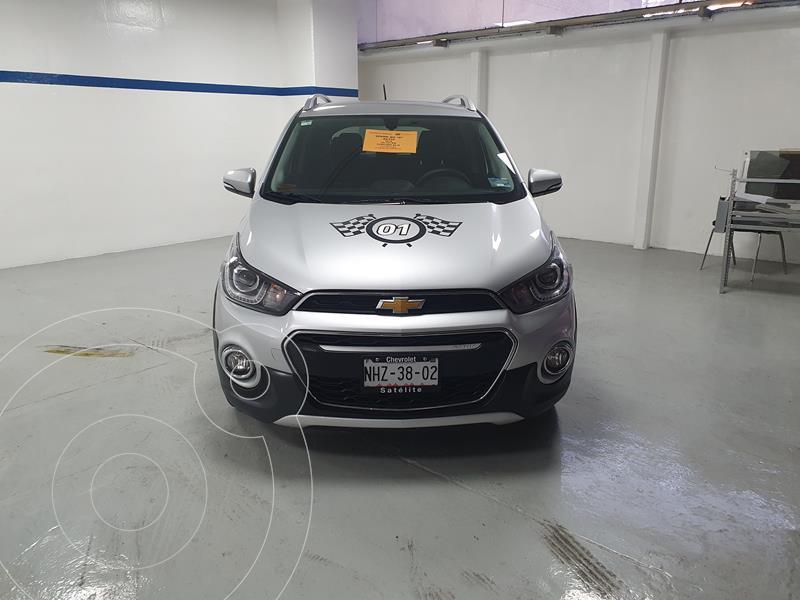 Chevrolet Spark Active usado (2019) color Plata Brillante precio $210,000