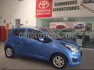 Chevrolet Spark 5P HB LTZ TM5 A/AC. CD VE F. NIEBLA RA usado (2015) color Azul precio $95,000