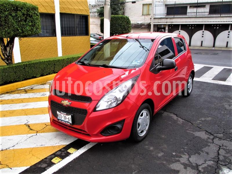 Chevrolet Spark LT usado (2016) color Rojo Flama precio $119,900