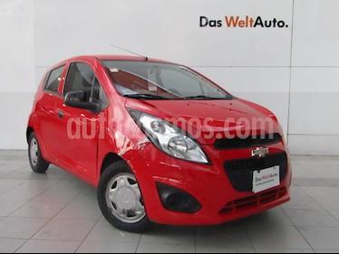 Chevrolet Spark Paq B usado (2015) color Rojo Giga precio $99,000