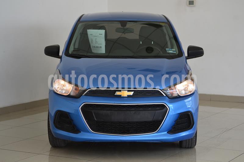 Chevrolet Spark LT usado (2017) color Azul precio $140,000
