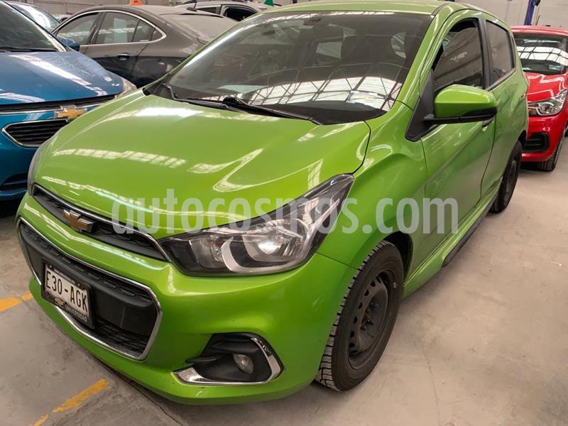 Chevrolet Spark LTZ usado (2016) color Verde Lima precio $99,000