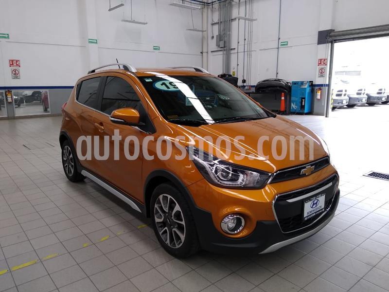 Chevrolet Spark Active usado (2019) color Naranja precio $205,000
