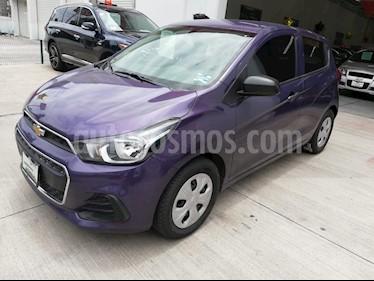 Foto venta Auto usado Chevrolet Spark Paq B (2017) color Azul Web precio $140,000
