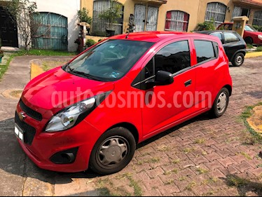 Foto venta Auto usado Chevrolet Spark Paq B (2017) color Rojo precio $115,000