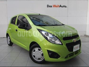 Foto venta Auto usado Chevrolet Spark Paq B (2017) color Verde Lima precio $139,000