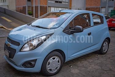 Foto venta Auto usado Chevrolet Spark Paq B (2014) color Azul Web precio $95,000