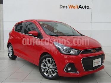 Chevrolet Spark Paq C usado (2017) color Rojo precio $168,000