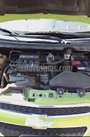 Chevrolet Spark Paq C usado (2015) color Verde Lima precio $100,000