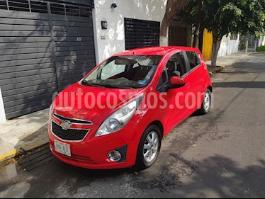 foto Chevrolet Spark Paq C usado (2012) color Rojo Giga precio $78,000