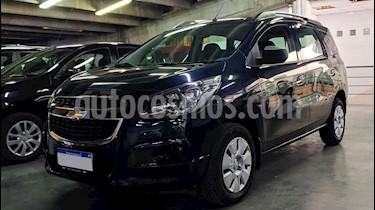 Chevrolet Spin Activ LTZ 1.8L 5 Pas Aut usado (2018) color Azul precio $840.000