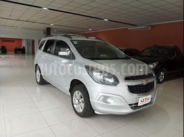 Chevrolet Spin Activ LTZ 1.8 7 Pas Aut usado (2014) color Gris Claro precio $580.000