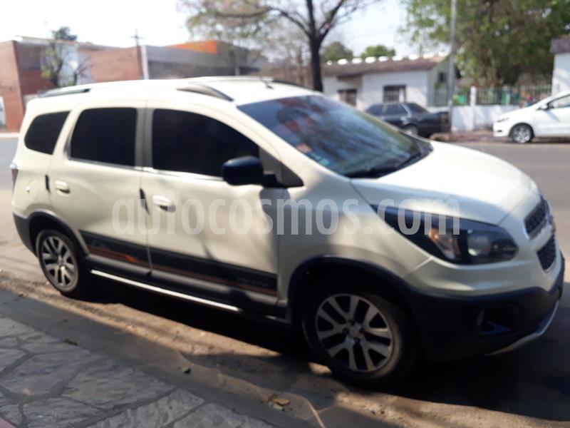 Chevrolet Spin Activ LTZ 1.8 5 Asientos Aut usado (2015) color Blanco Summit precio $780.000