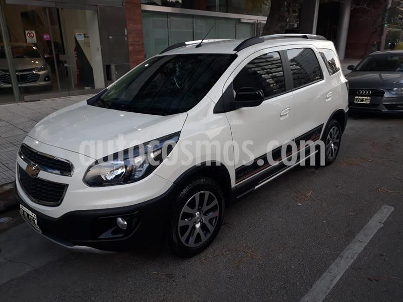 Chevrolet Spin Activ LTZ 1.8 5 Asientos usado (2015) color Blanco precio $1.149.000