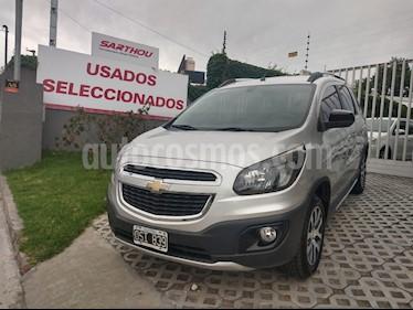 Chevrolet Spin Activ LTZ 1.8 5 Pas usado (2015) color Plata precio $590.000