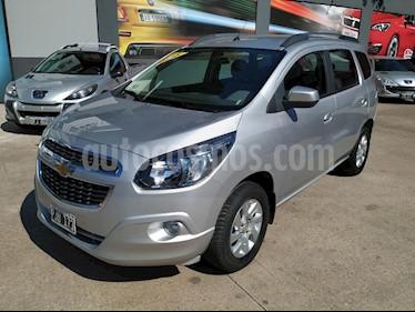 Chevrolet Spin Activ LTZ 1.8 7 Pas Aut usado (2015) color Gris Claro precio $530.000