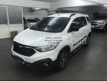 Chevrolet Spin Activ LTZ 1.8 5 Pas usado (2018) color Blanco precio $980.000