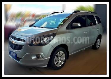 Chevrolet Spin Activ LTZ 1.8 7 Pas Aut usado (2015) color Gris Oscuro precio $585.000