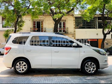 Chevrolet Spin Activ LTZ 1.8 7 Pas Aut usado (2013) color Blanco precio $495.000
