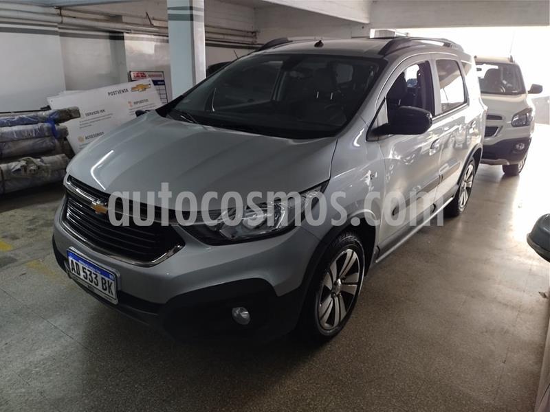 Chevrolet Spin Activ LTZ 1.8 7 Asientos Aut usado (2019) color Gris Mond precio $1.949.000