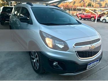 Foto venta Auto usado Chevrolet Spin Activ LTZ 1.8 5 Pas Aut (2017) color Gris Claro precio $554.000