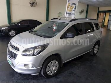 Foto venta Auto usado Chevrolet Spin Activ LTZ 1.8L 5 Pas Aut (2018) color Gris Claro precio $640.000