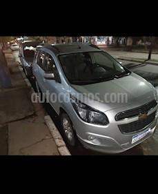 Chevrolet Spin LTZ 1.8 7 Pas Aut usado (2018) color Gris precio $850.000
