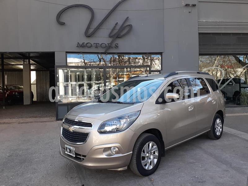 Chevrolet Spin LTZ 1.8 5 Pas usado (2012) color Dorado precio $630.000